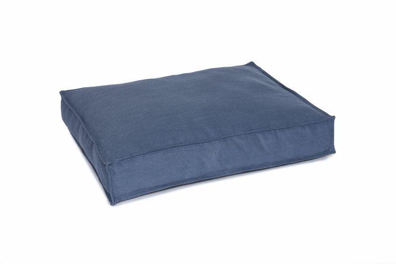 Blue Cushion/Mattress Style Dog Bed