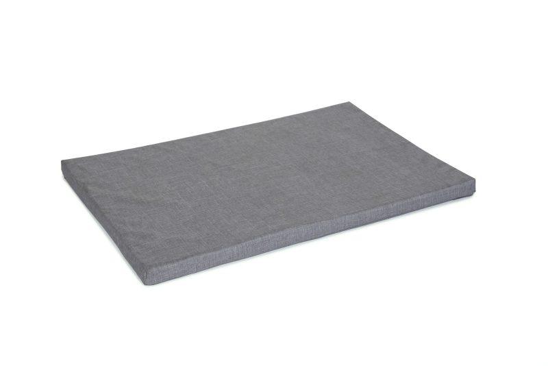 Light Grey Canvas Dog Mat